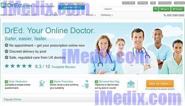DrEd.com screenshot