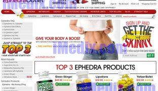 EphedraOutlet.com screenshot
