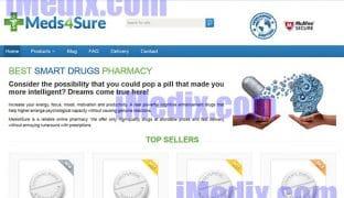 Meds4Sure.com screenshot