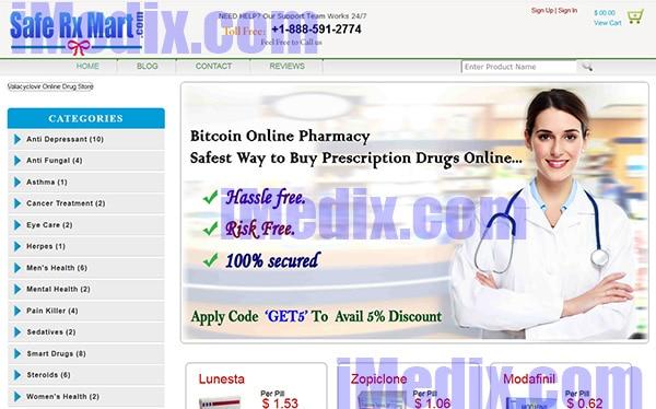 SafeRXmart.com screenshot