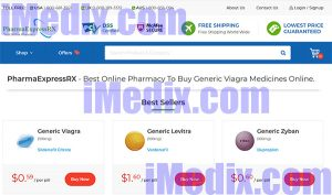 PharmaExpressrx.com screenshot