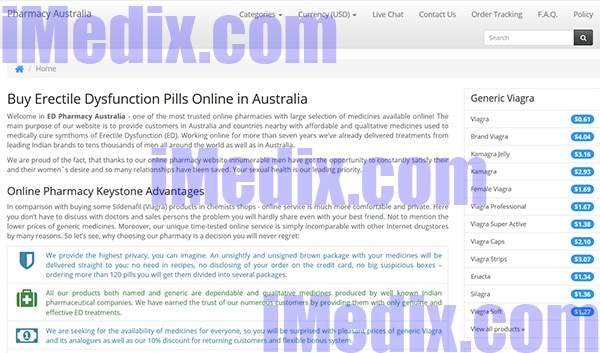 VgrAustralia.com screenshot