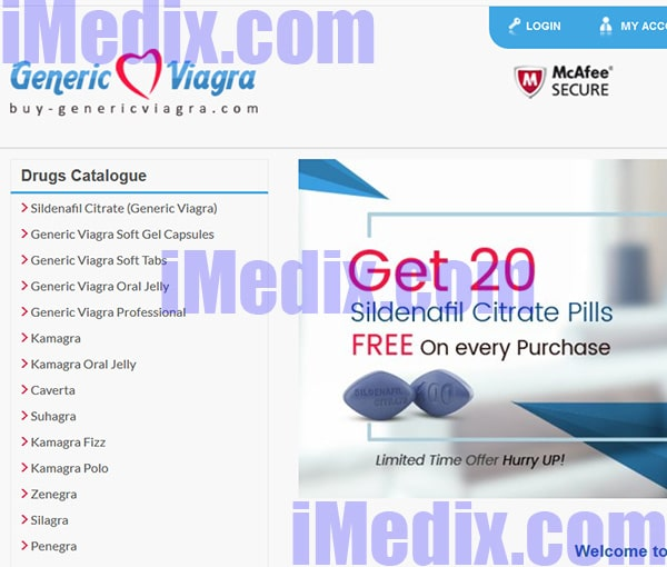 Buy-Genericviagra.com screenshot